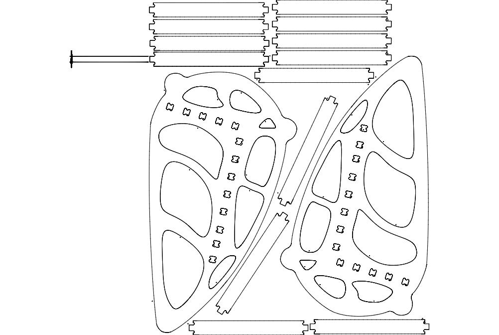 Sallanan Puzzle Free DXF File