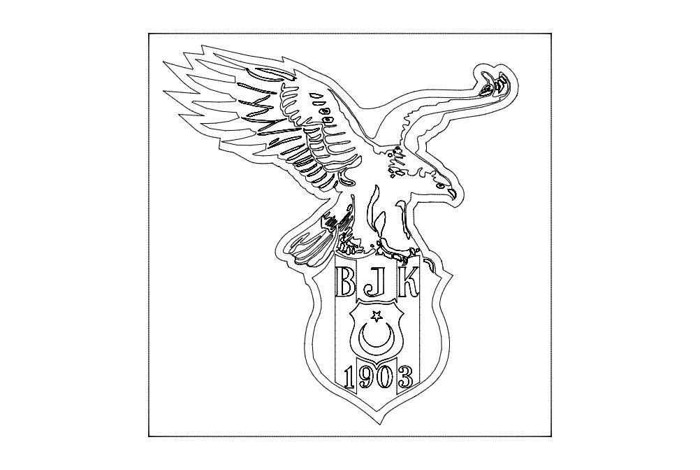 Kartal Logo Free DXF File