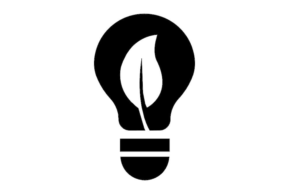 Light Bulb Free DXF File