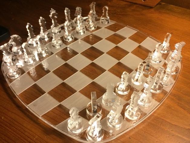 Lasercut Chess Games Free CDR Vectors Art