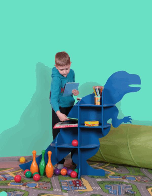 Dinosaur Shelf Cnc Plans Download Free DXF File