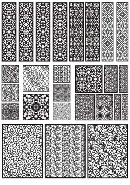 Decorative Pattern Library Download Free CDR Vectors Art
