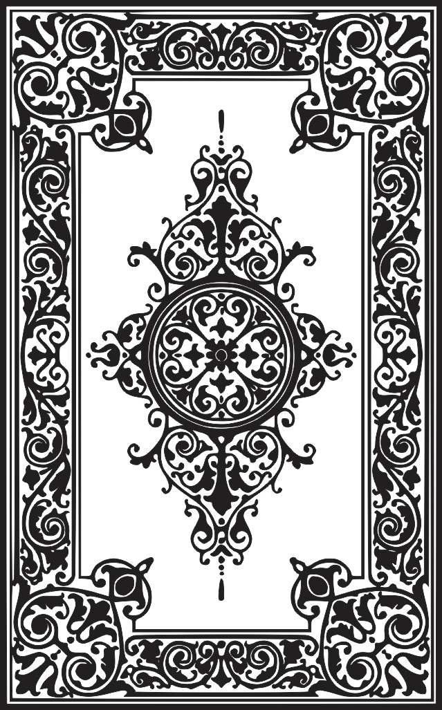 Floor Art Laser Cut Designs Free DXF File