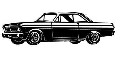 Ford Falcon Car Free DXF File