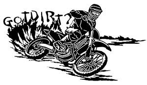 Got Dirt Bike Free DXF File