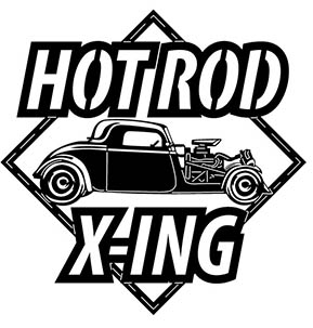Hot Rod Xing Car Free DXF File