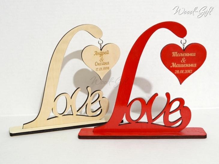 Laser Cut Love Heart Stand Template Free CDR Vectors Art