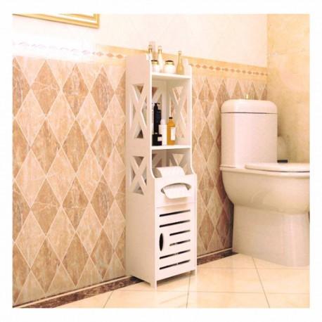 Bathroom Wooden Shelf Organizer Free DXF File