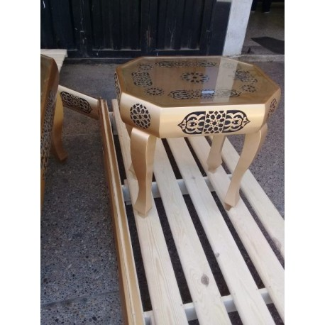 Decorative Wooden Table Free DXF File