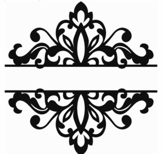 Laser Cut Floral Pattern Design Art Free DXF File