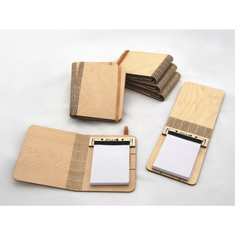 Laser Cut Folding Plywood Booklet Free DXF File