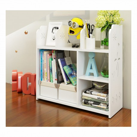Laser Cut Wooden Books Shelf Design Free DXF File