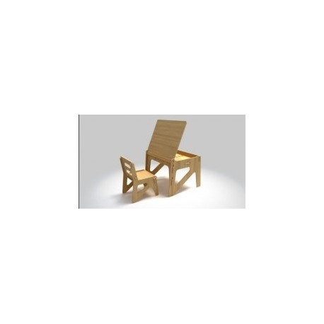 Child Chair Cutting g02 Free DXF File