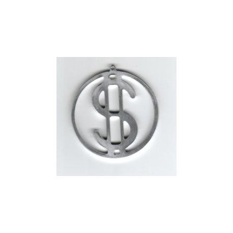 Dollar Ring Free DXF File
