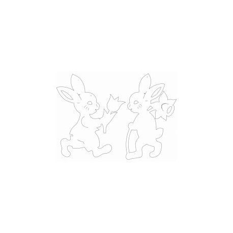 Hase T Rabbit Free DXF File