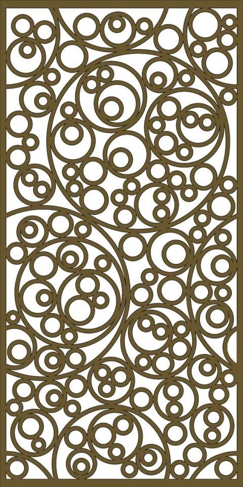 Jali Pattern Design Decor x13 Free DXF File
