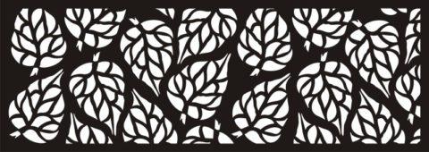 Jali Pattern Design Decor x15 Free DXF File