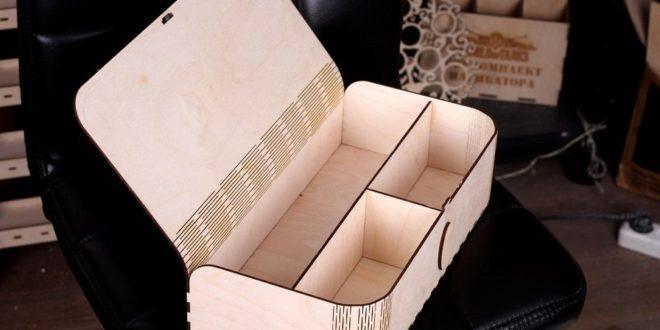 Laser Cut Box Folding Lid Free CDR Vectors Art