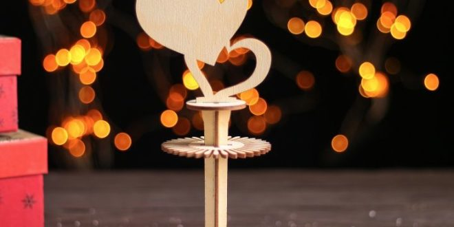 Laser Cut Napkin Ring With Hearts Free DXF File