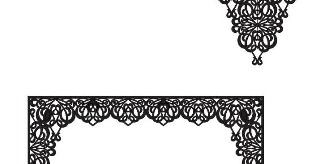 Laser Cutout For Houses Roofs Curtains Separate Parts Free DXF File