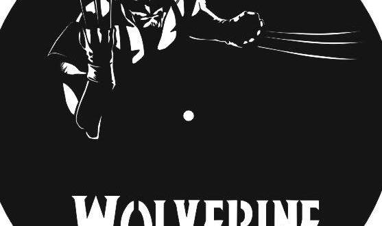 Wolverine Vinyl Clock Laser Cut Free DXF File