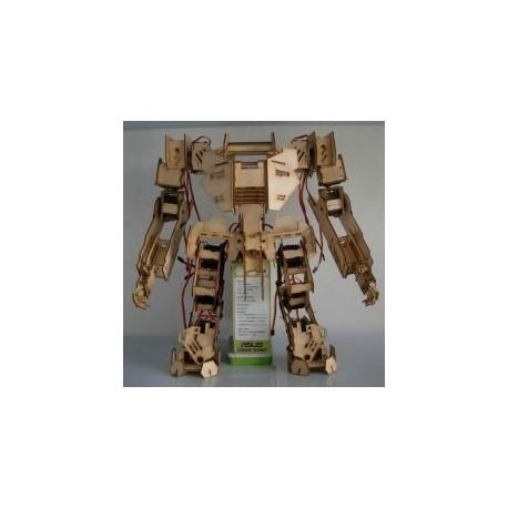 Mechbot Robot Laser Cut 3d Puzzle Free DXF File