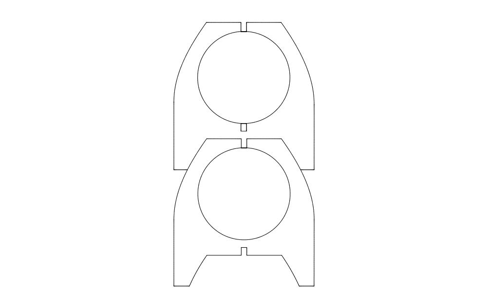 Banquinho Design Free DXF File