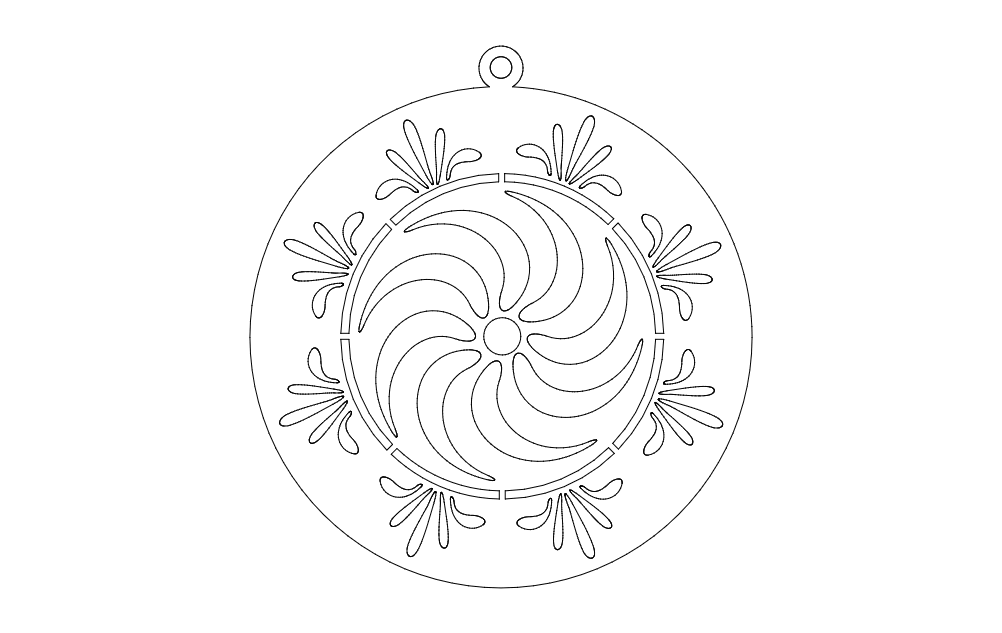 First Ring Free DXF File