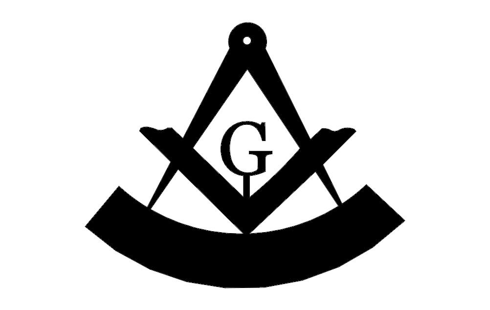 Mason Logo Free DXF File
