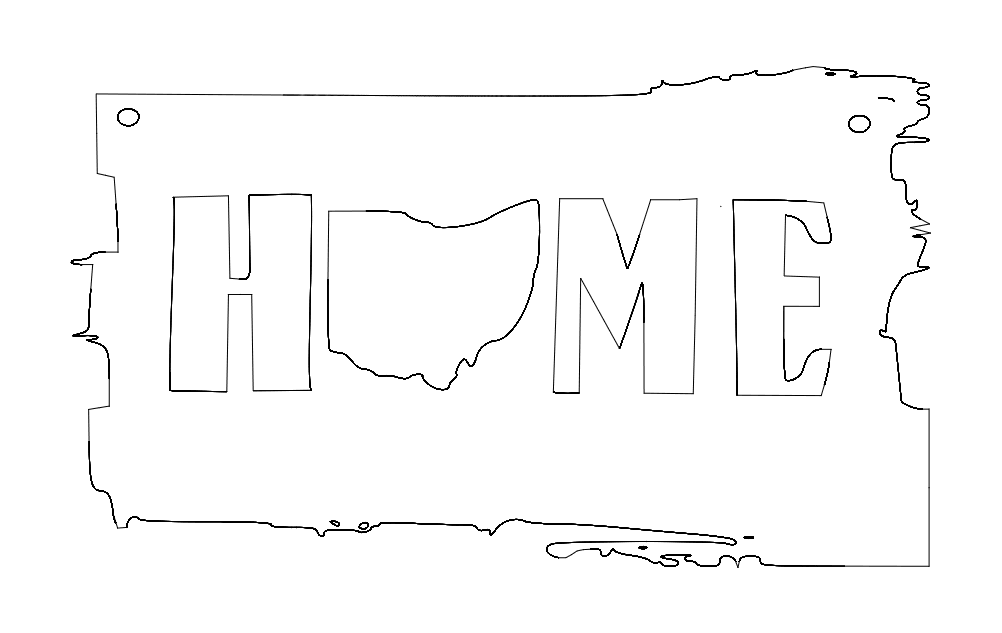 Ohio Home Free DXF File