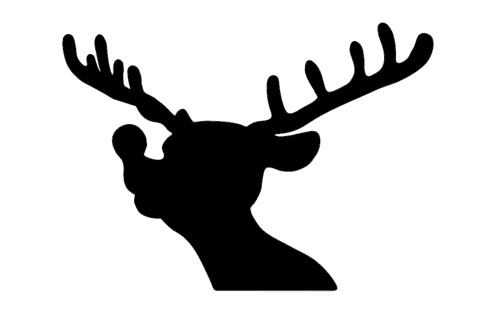 Rudolph Silhouette Free DXF File