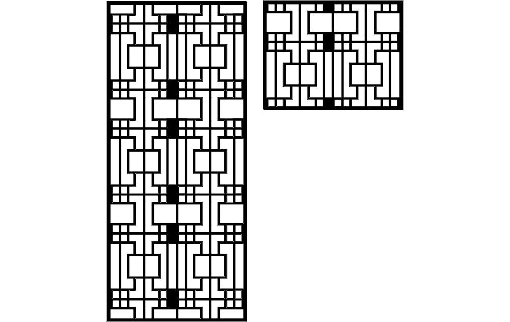 Seperator Design 4 Free DXF File