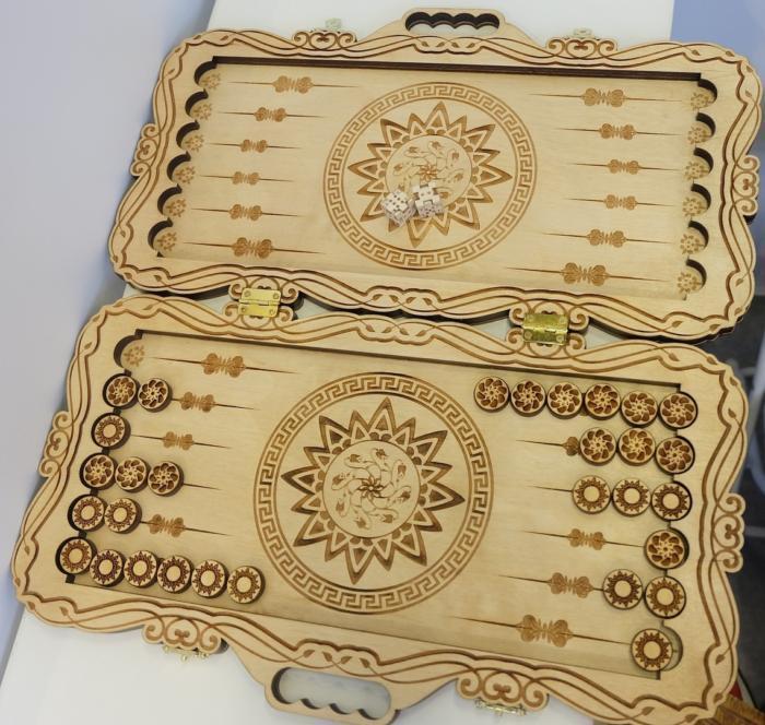 Cnc Laser Cut Design Wooden Mandala Box Free DXF File
