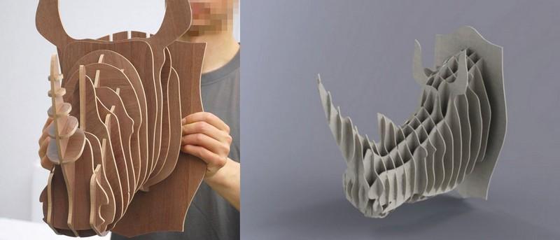 3d Puzzle Amazing Design Unihorn Free CDR Vectors Art
