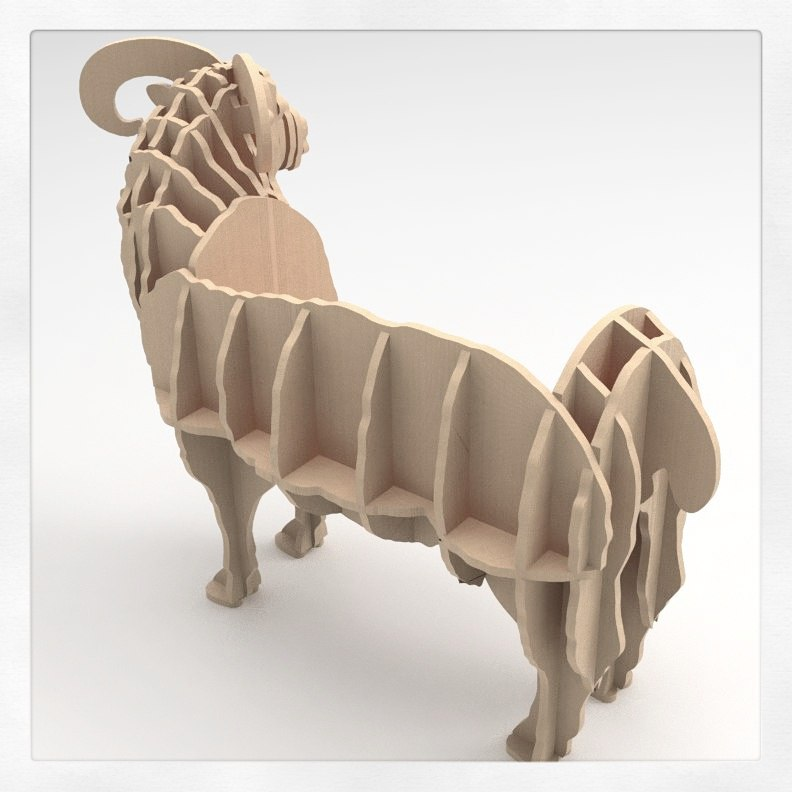 Cnc Laser Cut Animal Puzzle Design Free CDR Vectors Art