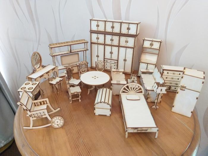 Cnc Laser Cut Design House Elements Wooden Free CDR Vectors Art