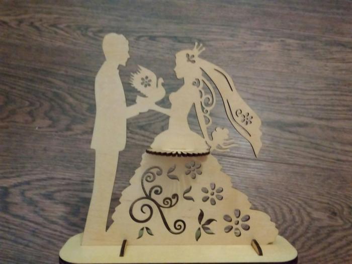 Cnc Laser Cut Design Married Couple Free CDR Vectors Art