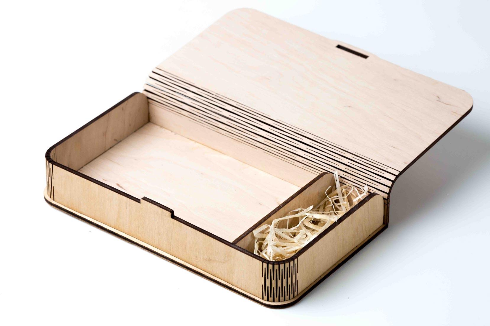 Cnc Laser Cut Design Wooden Box Free CDR Vectors Art