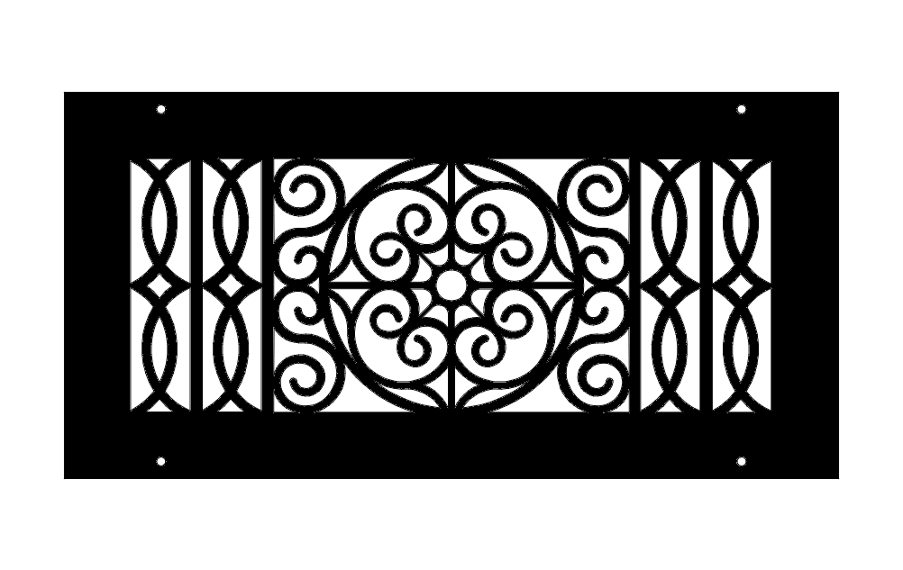 Classic Pattern Free DXF File