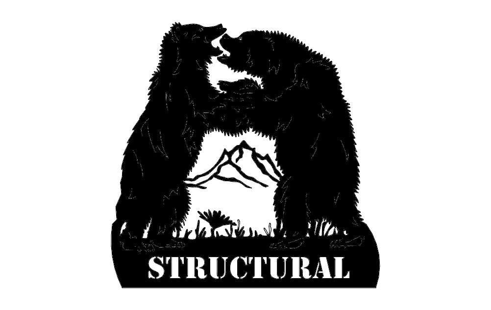 Dancing Bears Structural Free DXF File