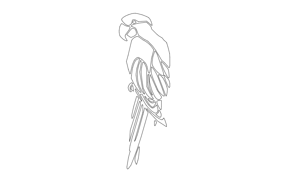 Parrot Free DXF File