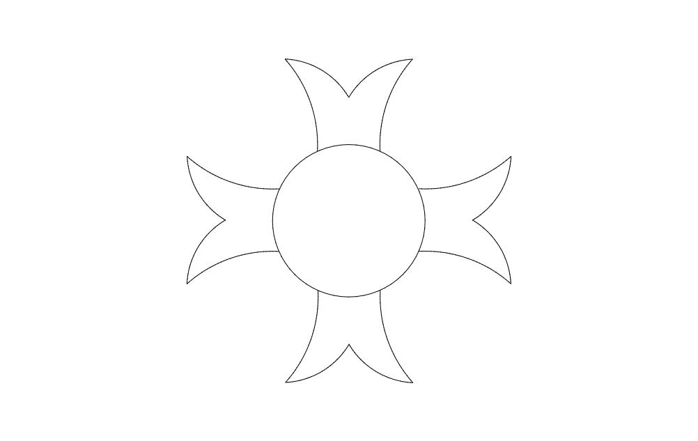 Pattern 4 Free DXF File