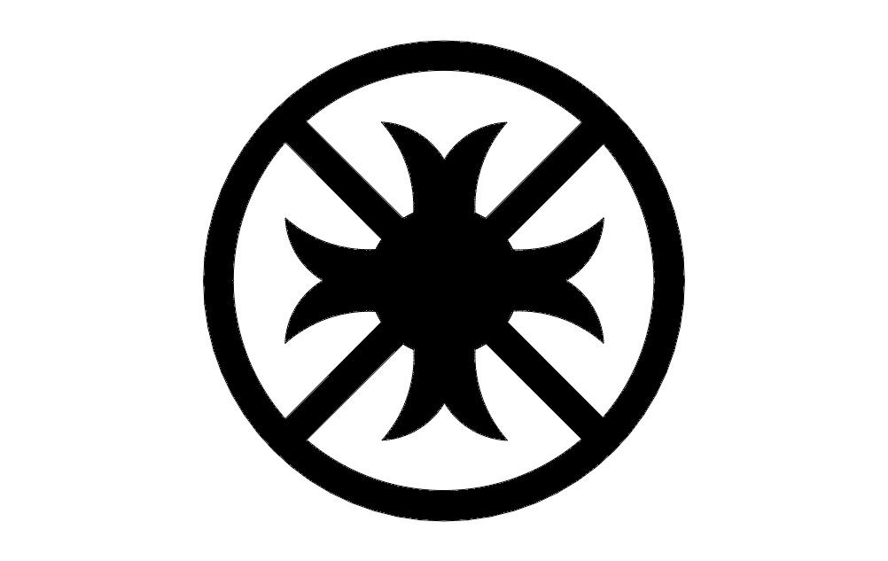 Pattern Circle Free DXF File