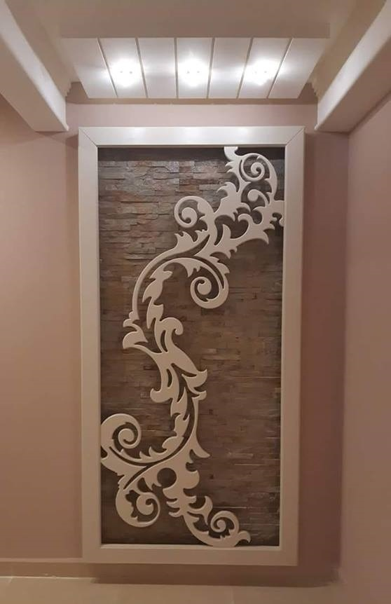 Wall Flower Laser Cutting Free DXF File