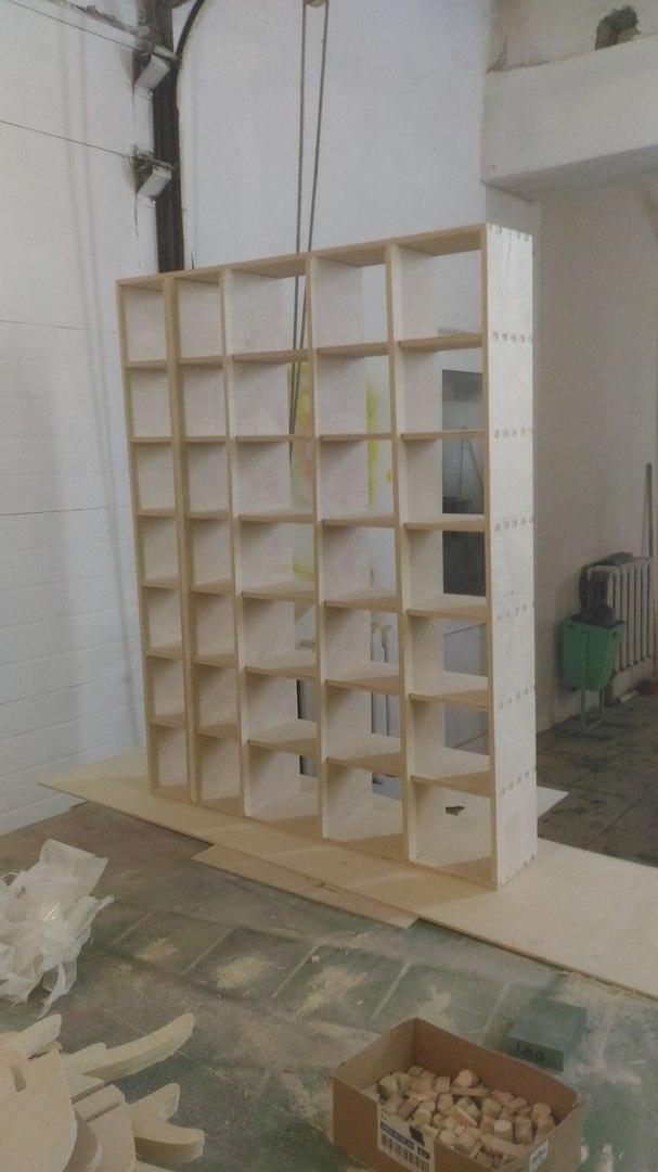 Laser Cut Cnc Project Wooden Wall Rack Free CDR Vectors Art