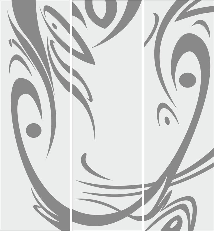 Abstract Sandblast Design Free CDR Vectors Art