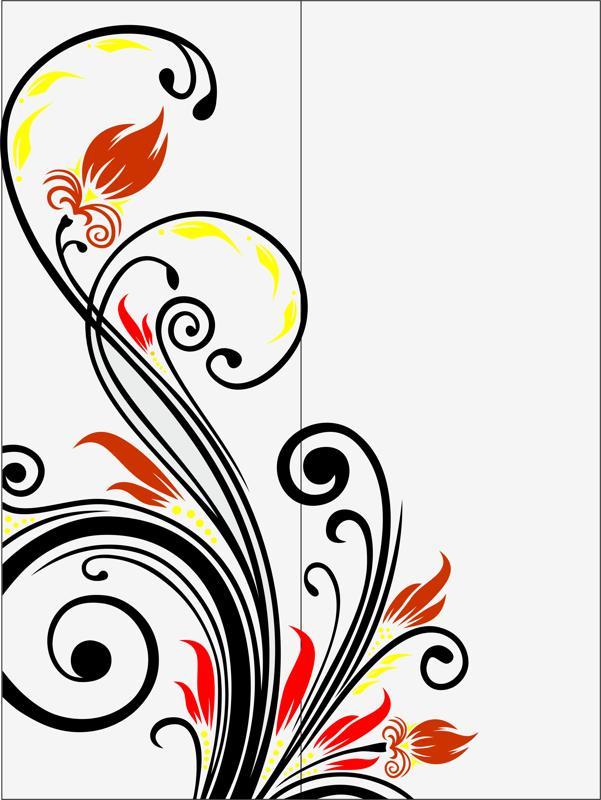 Abstract Sandblast Pattern Design Free CDR Vectors Art