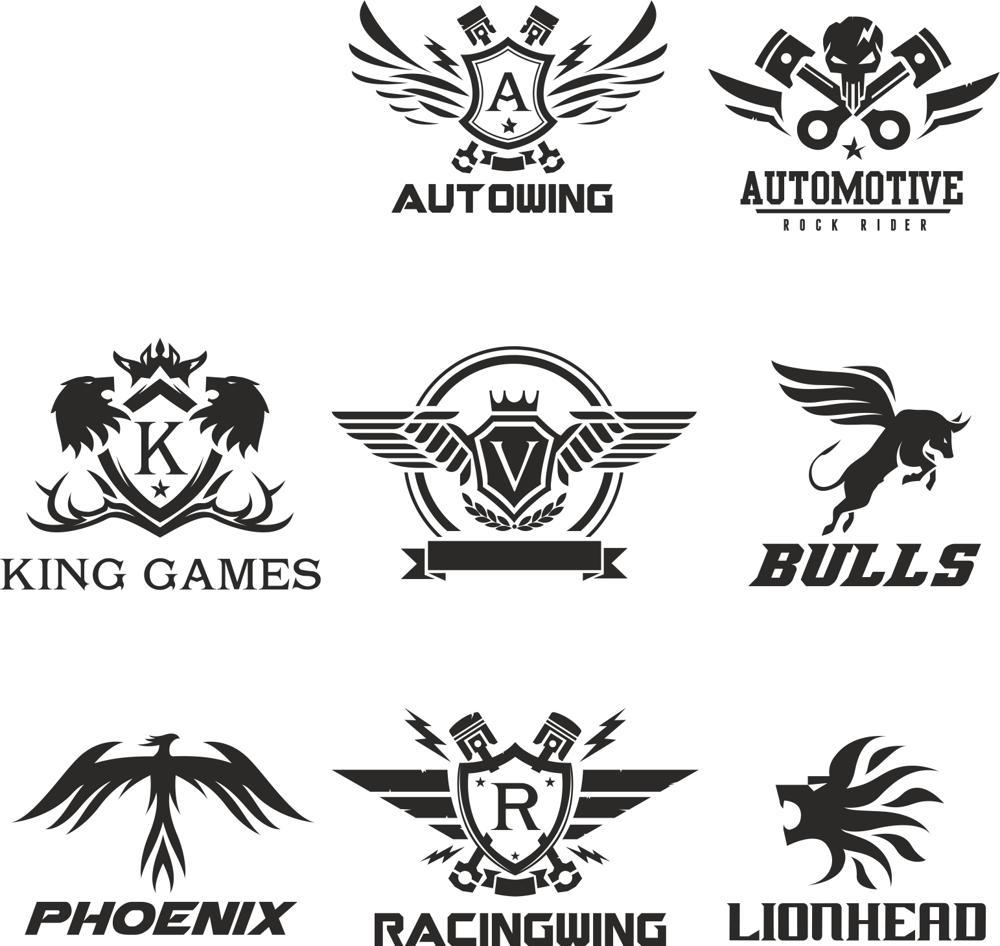Laser Cut Auto Logo Free CDR Vectors Art