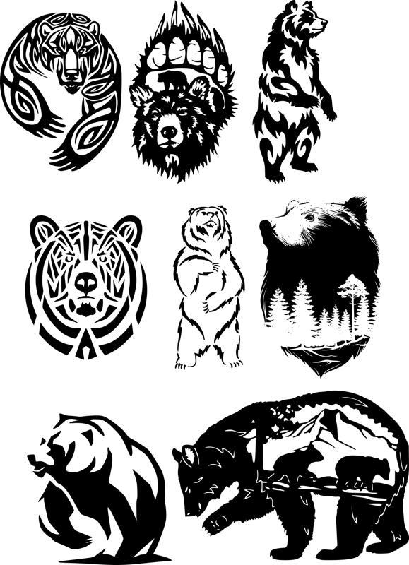 Wildlife Animals Free CDR Vectors Art