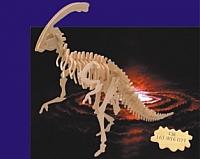 Laser Cut 3d Puzzle Parasaurolophus Template Free DXF File
